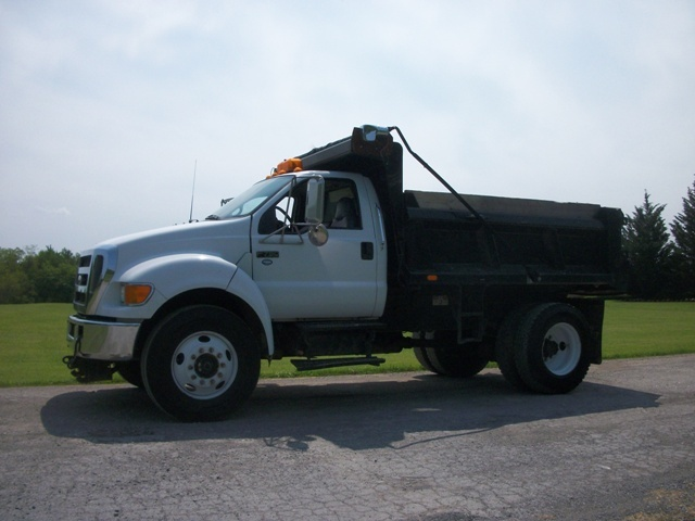 2006 Ford F 750 Dump Truck W Cat Diesel Trucks For Sale