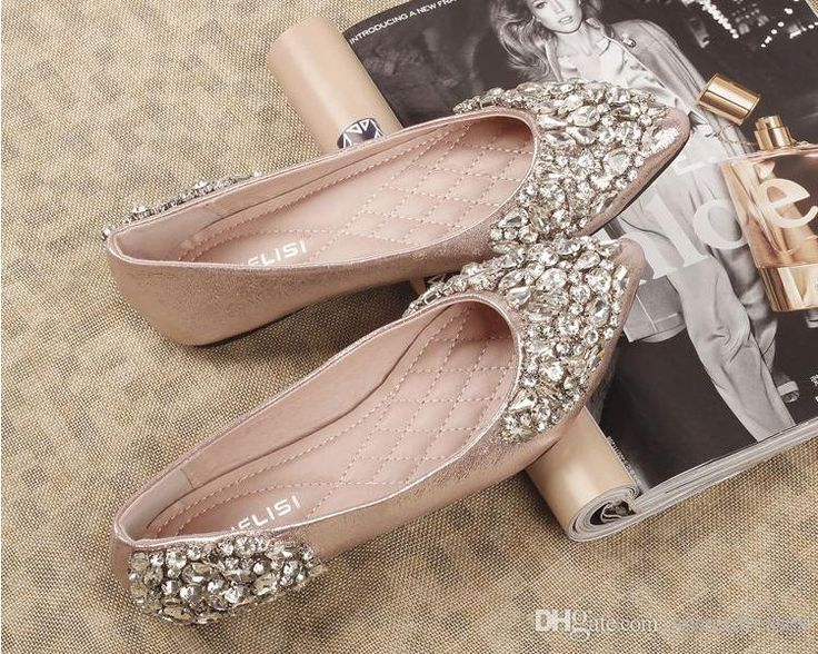 Cheap 2015 Rhinestones Wedding Shoes Bridal With Bling Sequins Crystal Low Heel Women Sm22 As 10634 Also Buy Navy Blue