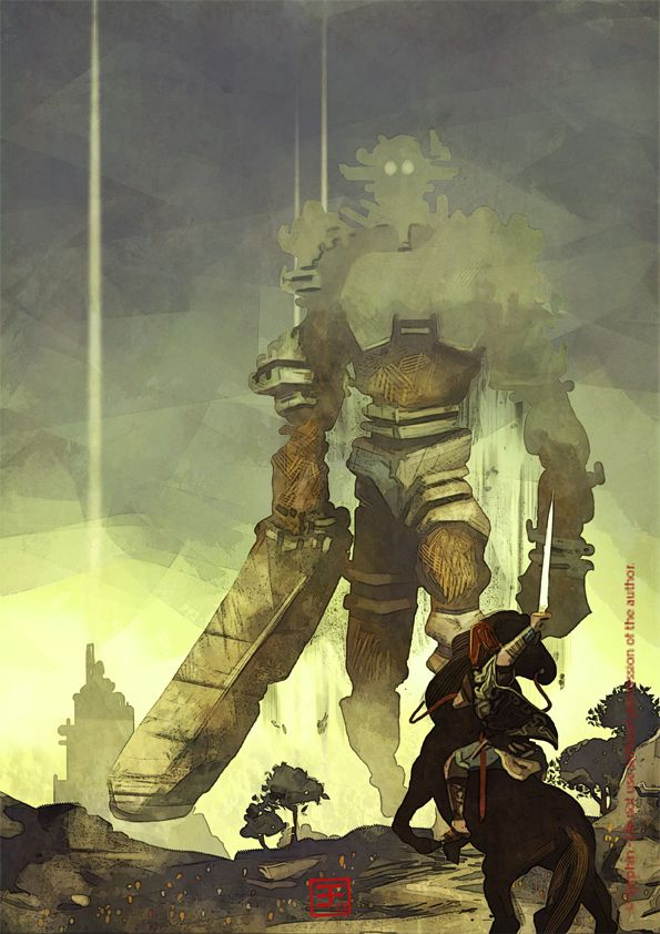 Shadow of the Colossus by ~Syrphin