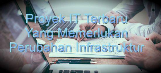 Konsultan IT Jakarta - Indonesia: Proyek IT Terbaru Memerlukan Perubahan Infrastrukt...