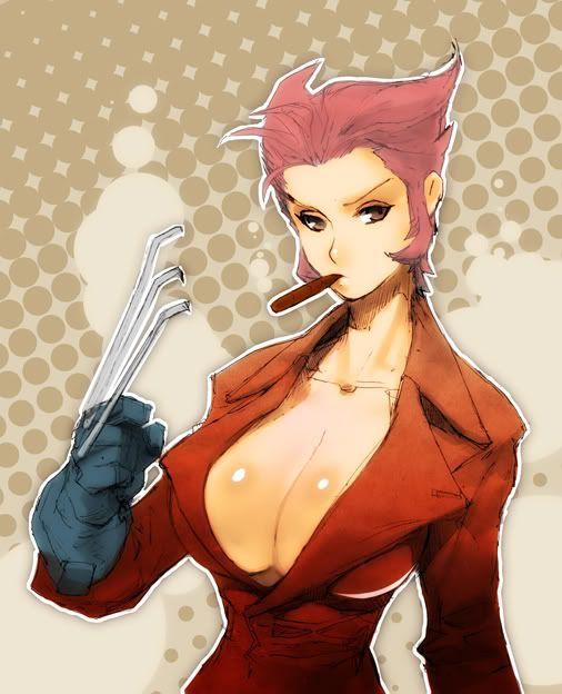 Gender-swapped Wolverine