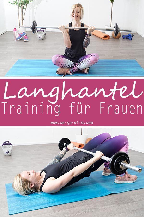 10 geniale Langhantel Übungen für Frauen