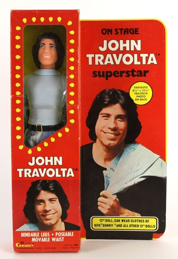 John Travolta | 9 Totally Awesome And Kinda Weird 1970s Celebrity Dolls