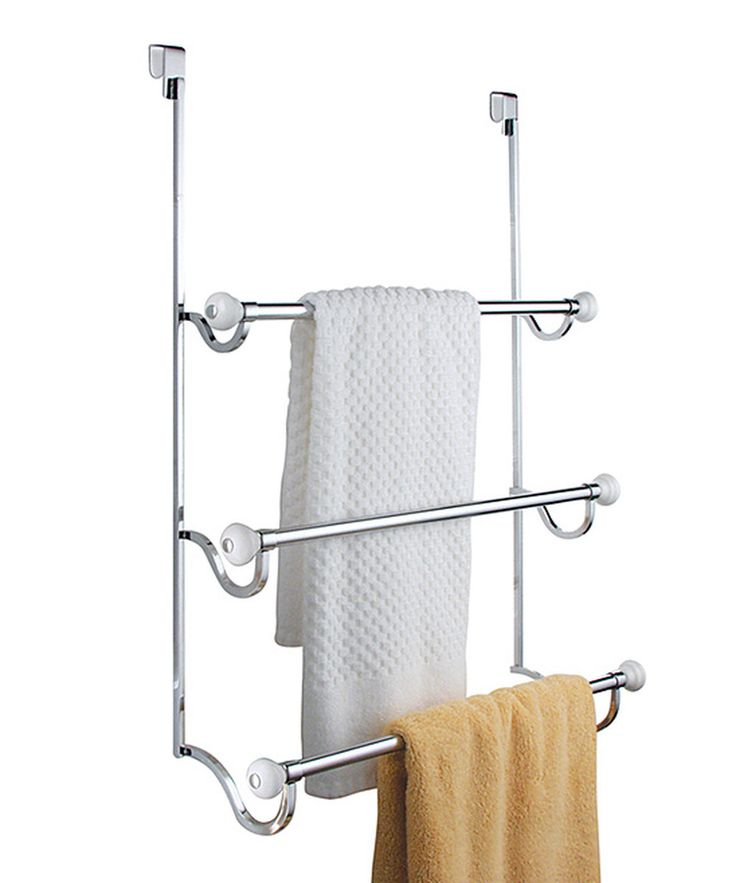 Look at this York 3-Tier Over-The-Door Towel Rack on #zulily today!