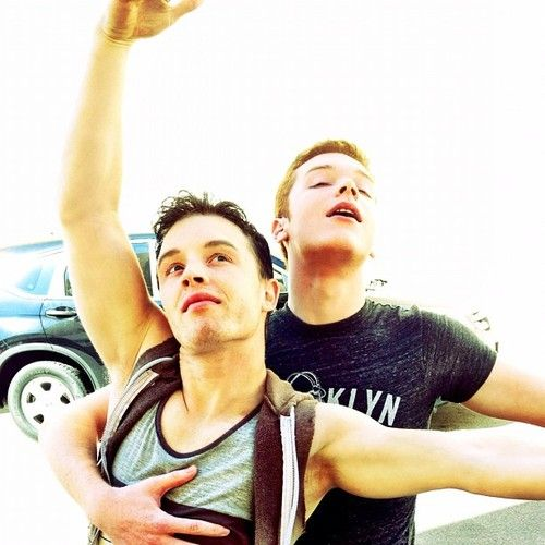 Noel Fisher and Cameron Monaghan from Shameless