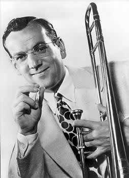 Alton Glenn Miller, Clarinda IA, (1904-1944), military plane crash during WWII.  Band leader, musician, arranger, composer.