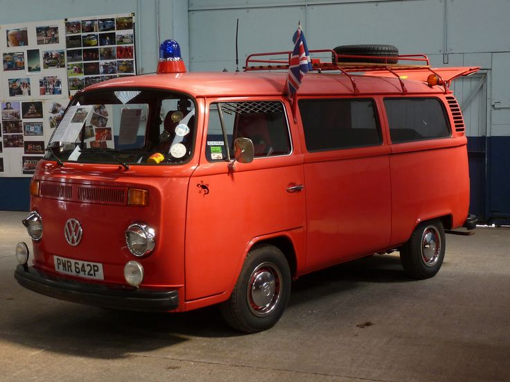 VW Bay Transporter Bus.