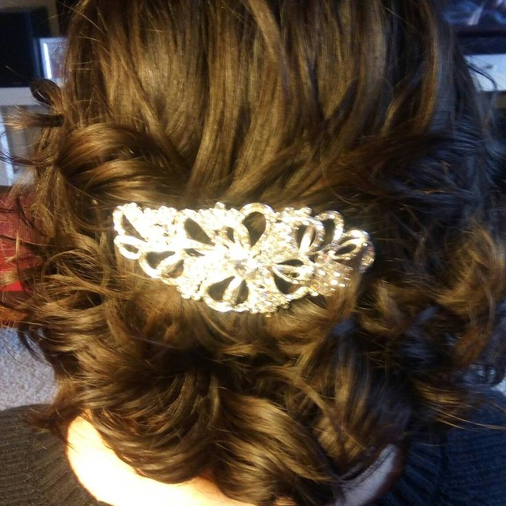 Prom- Short hairstyle