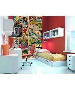 1Wall 2 Piece Marvel Comics Mural.