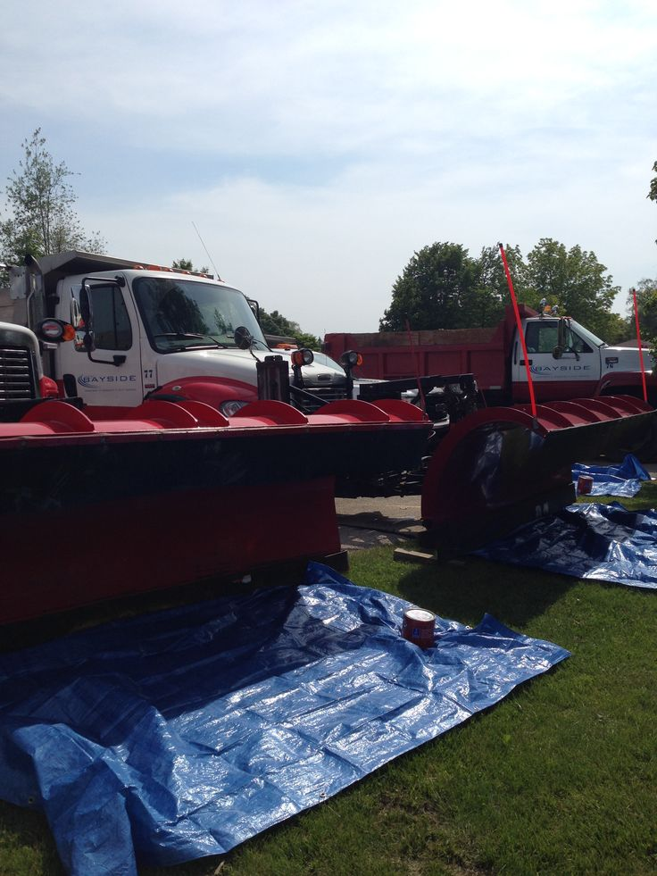Snow Plows Summer events, Snow plow, Summer 2014