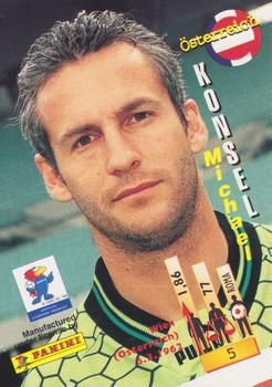 1998 Panini World Cup #5 Michael Konsel Back