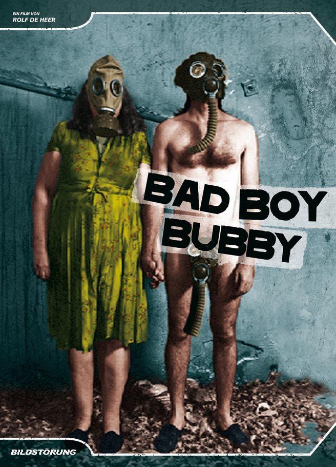 Das Cover-Artwork zum Film BAD BOY BUBBY von Rolf de Heer. Erschienen bei Bildstörung auf DVD. Mehr auf unserer Webseite.
