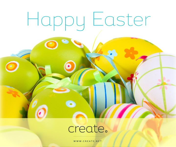 #HappyEaster from all at Create! #Easter #Eggs #Holidays