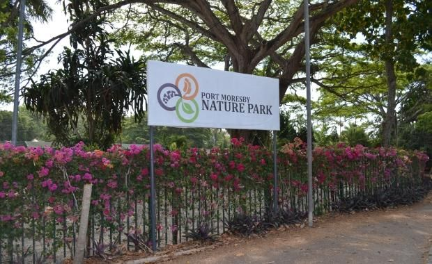 Port Moresby Nature Park - Weaving through picturesque surroundings and jungle…