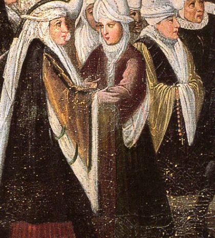 Procesión en Begoña, anónimo, h. 1600, Monasterio de las Descalzas Reales, Madrid.