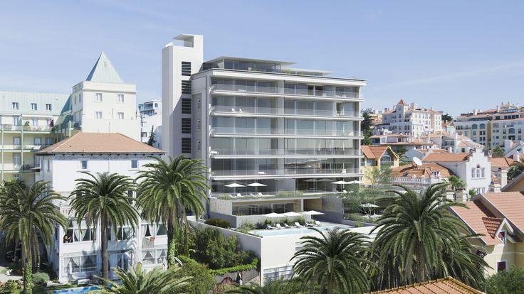 GRANDE HOTEL Fantástico empreendimento no Monte Estoril, com deslumbrante vista sobre o mar. Veja o vídeo:  https://www.youtube.com/watch?v=cQTDr2xjIFE   Mais informação aqui: http://www.portadafrente.com/shop/product/grande-hotel-337?category=2