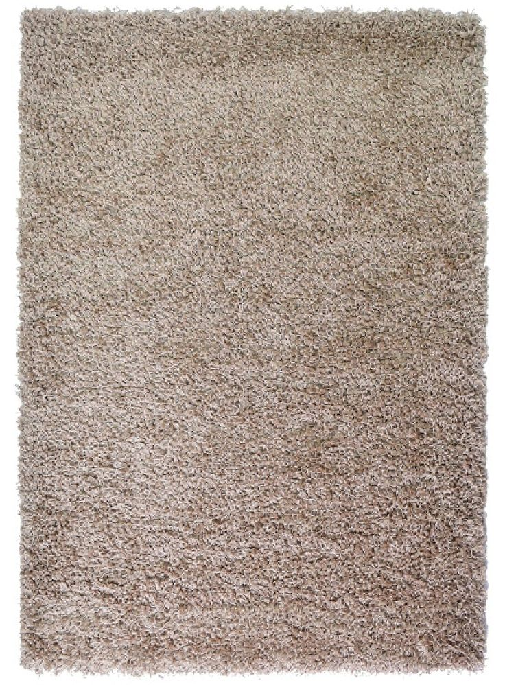 "Extra Large Rug 5cm Thick Shag Pile Soft Shaggy Area Rugs Modern Carpet Living Room Bedroom Mats (160x230cm (5'3""x7'7""), Dark Beige): Amazon.co.uk: Kitchen & Home"