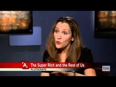 Chrystia Freeland: The Super-Rich, and the Rest of Us #economics #money #AgendaTVO