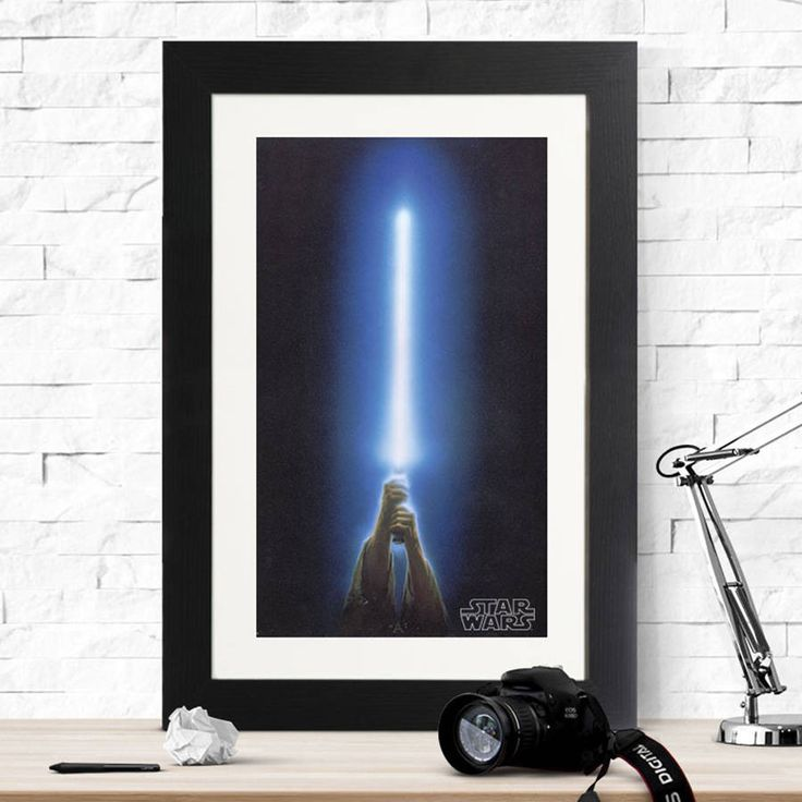 Star Wars Lightsaber Print