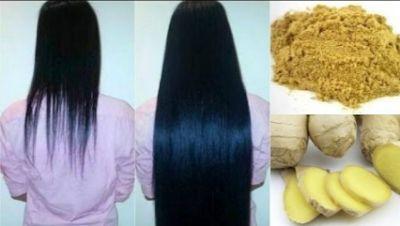 Ginger for hair growth, treat Dandruff, and split ends