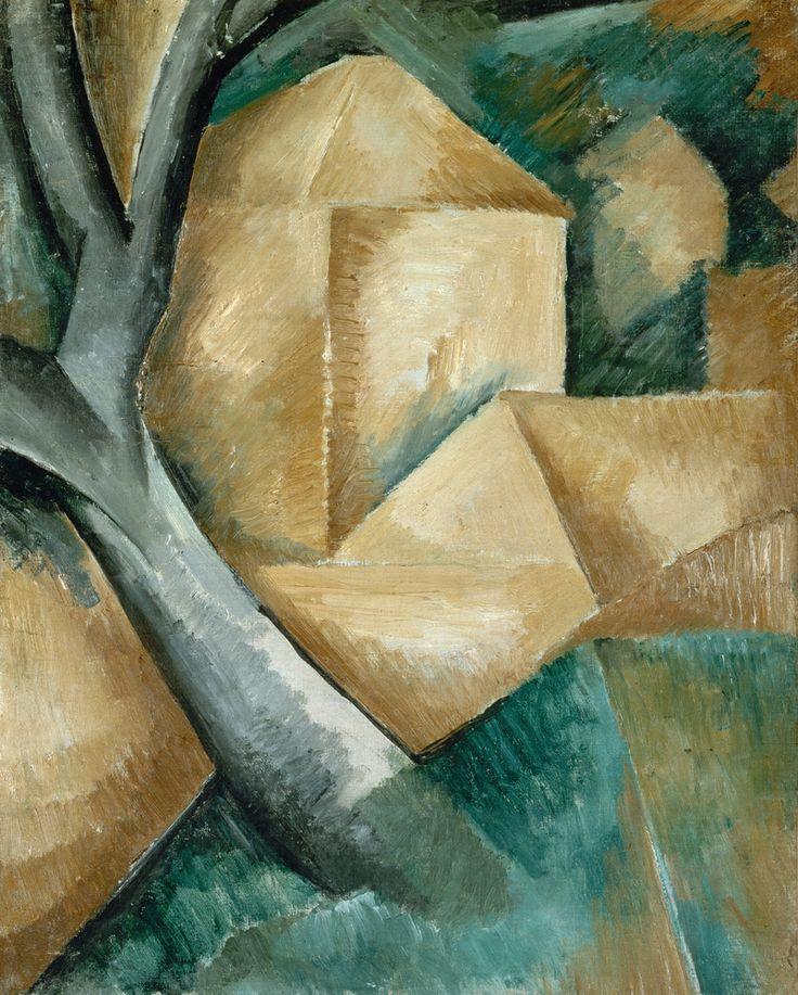 Houses a L'Estaque - Georges Braque, 1908