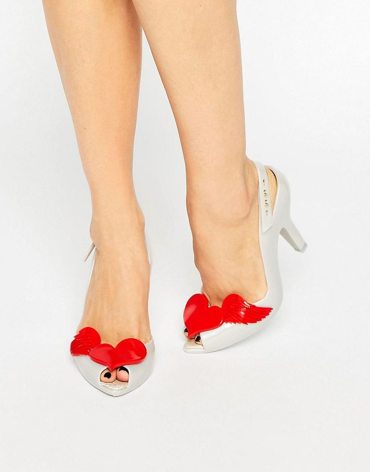 How cute are these Vivienne Westwood Melissa heels for a 'vegan' friendly alternative.
