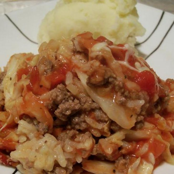 Easy Cabbage Casserole Tastes Like Cabbage Rolls