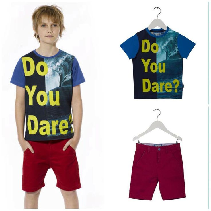 The summer look for the cool boys:  T-shirt: Petter Shorts: Red New Castle  You can find the outfit on our webshop here:  http://www.ticket2heaven.com/children%27s-clothing/products/sets/cool-set-with-t-shirt-and-shorts-for-boys/141_saet_tshirt_shorts_dreng4.html#http%3A%2F%2Fwww.ticket2heaven.com%2Fsearch=undefined&start=2&q=sets&sz=12