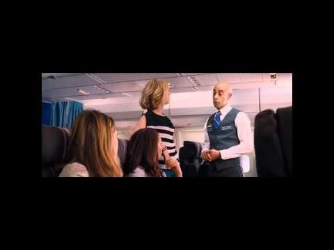 Bridesmaids: full airplane scene 'Welcome To Germany!'