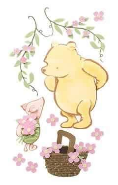 Old fashioned winnie the pooh baby shower