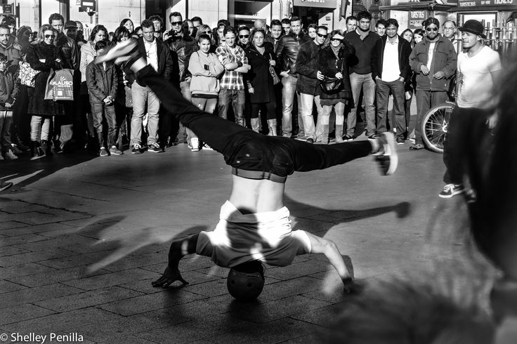 Street dance en Puerta del Sol