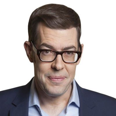 Richard Osman - witty and love his gentle sense of humour