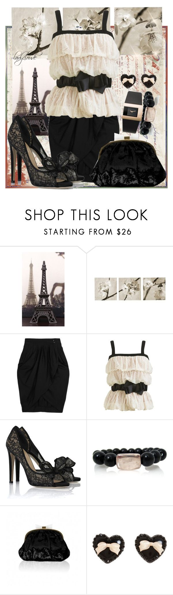 """""""24.Paris!"""" by ladycloude ❤ liked on Polyvore featuring Melissa, Nicole, McQ by Alexander McQueen, Arden B., Valentino, Rosa Maria, Felix Rey, Danish Designs and Tarina Tarantino"""