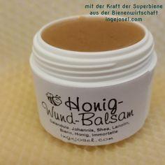 Honig Wund Balsam schnell einfach selber machen. diy - Das Rezept und die Anleitung wie einfach es geht von Inge Josel. Feine Heilsalbe mit Honig.