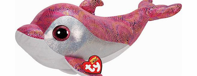 Beanie Boos Ty Beanie Boos - 51cm Sparkles the Dolphin Large Big hugs are guaranteed with a 40cm Beanie Boo Soft Toy. Sparkles the dolphin is the most glamorous creature in the ocean. Soft and hand washable, large Beanie Boos are perfect for kids of all ages. ( http://www.comparestoreprices.co.uk/soft-toys/beanie-boos-ty-beanie-boos--51cm-sparkles-the-dolphin-large.asp