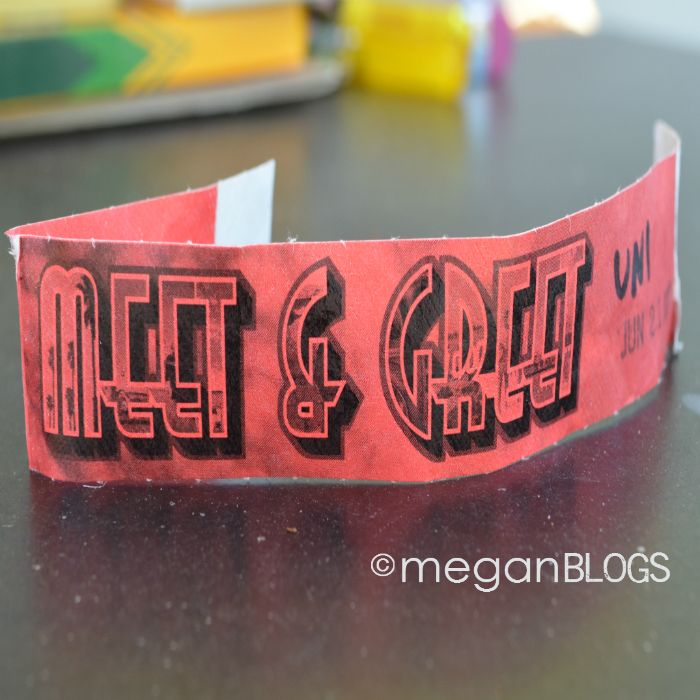 Big Time Rush concert, June 21st 2013. Emily's first concert and first backstage pass, thanks to #cbias