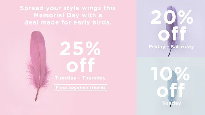 Long Tall Sally USA and Canada: 25% off