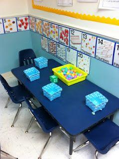 Lots of ideas for Kindergarten centers