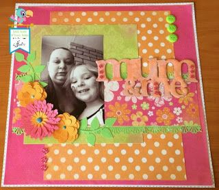 Mum and Me Layout