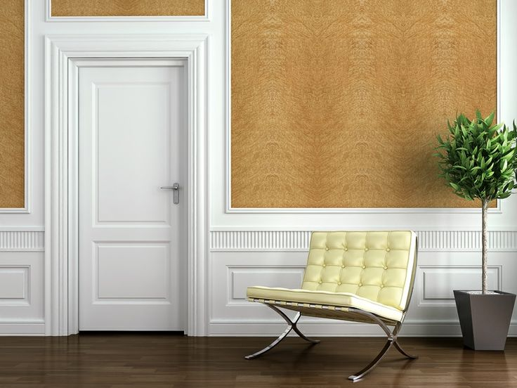 Covering Paneling With Fabric : Best upholstered walls images on pinterest bedrooms