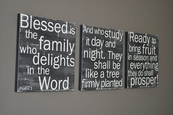 scriptureDecor, Psalms, Wall Art, Ideas, Subway Art, Bible Quotes, Canvas, Scriptures Art, Bible Verse