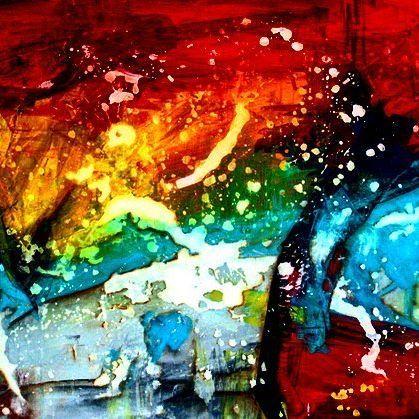 @josefinakunstler #art #artwork #color #intense #expressionism #abstractart #arte #livingwithart #noblankwalls #interiordesign #art&design