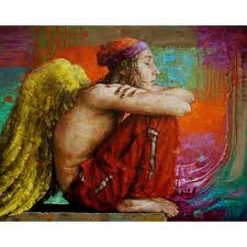 Hugo Urlacher: Artists, Art, Color, Illustration, Angels, Paintings
