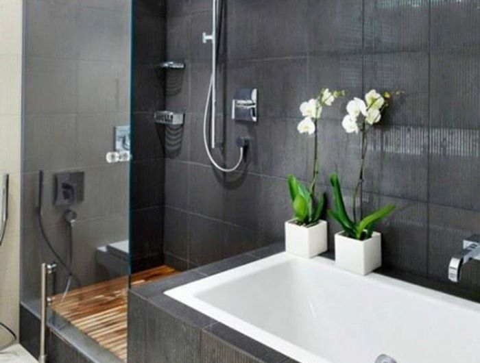 Wandfarbe badezimmer ~ Coole wandfarben ideen graue badezimmer wände graue wandfarbe