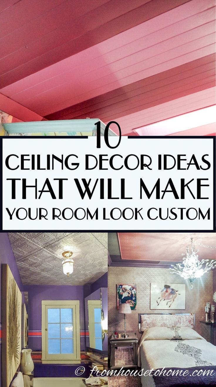 Ceiling Design Ideas 10 Unique Ways To Decorate The Ceiling On A