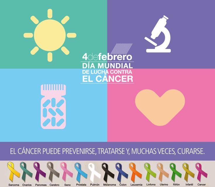 Hoy #DiaMundialcontraelCancer y siempre, nuestro apoyo a lxs q luchan a diario contra el #cáncer y a sus familias!