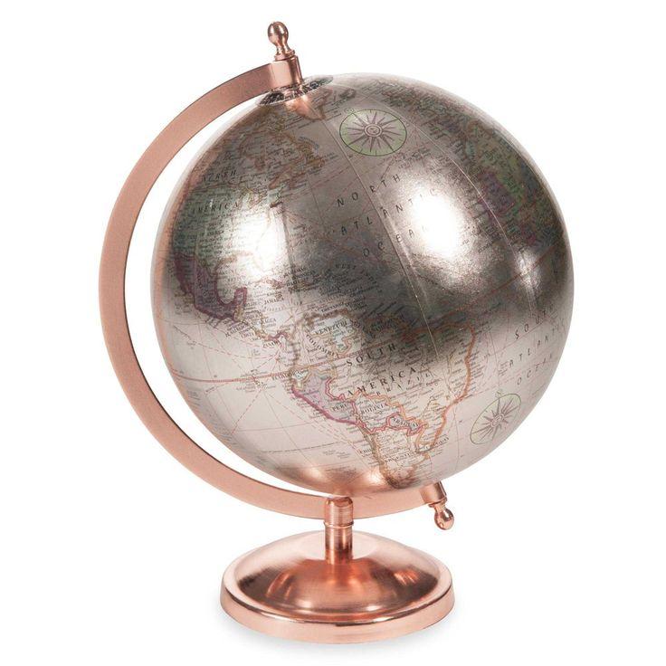 COPPER GLACE globe H 29 cm