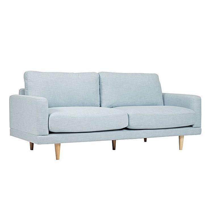 Chloe 2.5 Seater Sofa, Blue