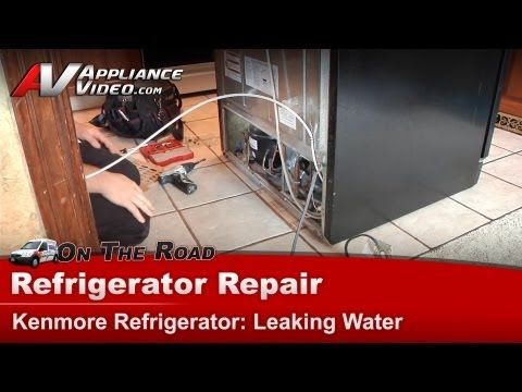 Quick Fix - How to stop water collecting in a fridge - YouTube