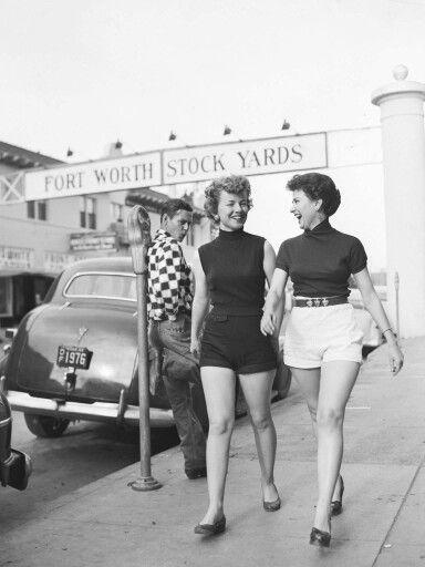 Fort Worth Stock Yards (cerca de 1952)   – Vintage